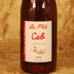 Le P'tit Cab 2018 - Château de la Roulerie etiquette