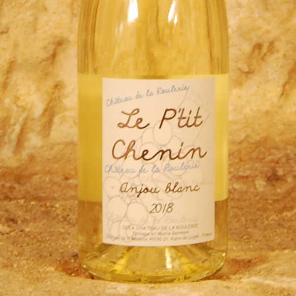 Le P'tit Chenin 2018 - Château de la Roulerie etiquette